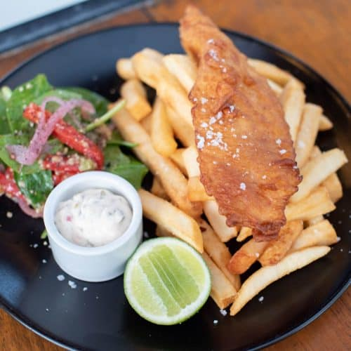 Wharf One Cafe - Delicious fish and chips