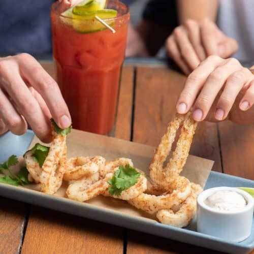 Food about us hands drink fried