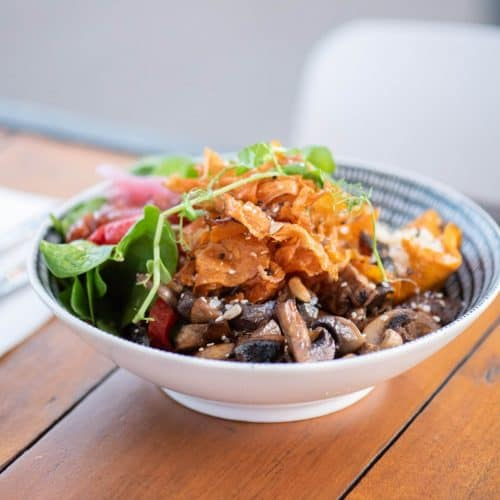 Wharf One Cafe - Gallery food bowl mushrooms
